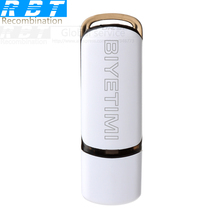 RBT BIYETIMI Usb Flash Drive White and gold Real capacity 8GB 16GB 32GB Memory Usb Stick 2.0 Pen Drive Pendrive For PC