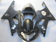 Fit for suzuki fairings gsxr1000 00 01 02 matte black motorcycle fairing kit GSXR 1000 2000 2001 2002 IV04