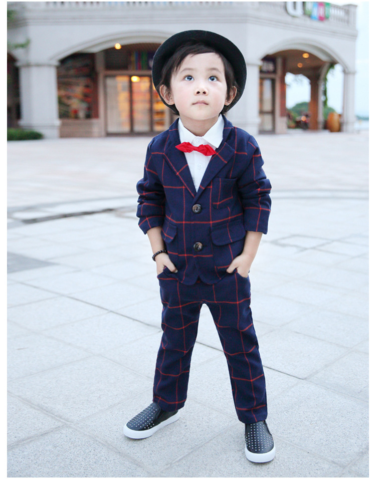 Formal boys suits for weddings kids Blazer Suit for boy costume enfant garcon mariage jogging garcon pants + jacket boys blazer