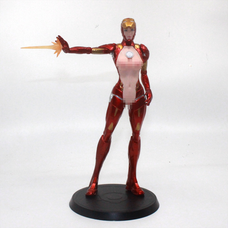 NEW Iron Lady 1//6 Scale MK8  Ironman Girl 20cm Statue Without Box