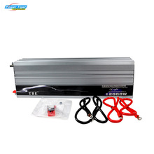 Profession Manufacturer Car Power Inverter 12000W Pure Sine Wave DC 12V To AC 220V Off-Gird Solar/Wind Power Inverter(China)