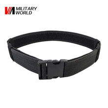 "2.0"" Army Tactical Load Bearing Combat Web Belt Outdoor Sport Airsoft Shooting Hunting Waist Band Nylon Belt For Men Women"