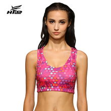 HTLD Gym Scale Sports Bra Lady Fitness Shockproof Running Tank Tops Exercise Yoga Vest Dance Bras For Running Sujetador Crop Top