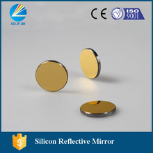 HY reflective mirror made in Silicon with 25mm diameter and 3mm thickness for CO2 laser cutter and engraver