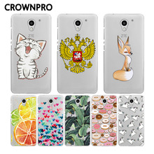 CROWNPRO Soft Silicone TPU ZTE Blade A510 Case Cover Colorful Painted For ZTE Blade A510 A 510 Phone Protective Case