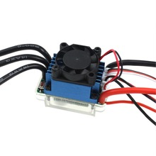 Waterproof brushless ESC 60A Sensorless Brushless motor for 1:10 RC Car Truck Electronic Speed Controller