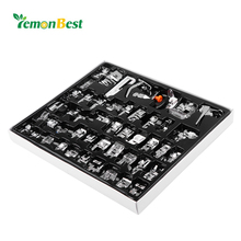 LemonBest 48pcs Domestic Sewing Machine Presser Foot Feet Kit Set Hem Foot Spare Parts Accessories for Brother Singer(China)
