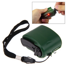 Outdoor Cell Phone Emergency Charger USB Crank Hand Manual Dynamo for Mobile Phone MP3 MP4 PDA