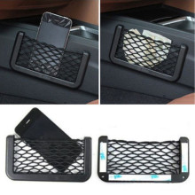 Hot Product Phone Accessory Bundles Car Seat Side Sundries Storage Net Bag Cellphone Holder Pocket Organizer Net