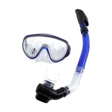1Set Professional Diving Mask Scuba Snorkel Glasses Tempered Glass Mask Set Silicone Swimming Pool equipment(China)
