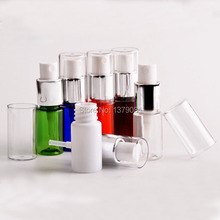 10ml Empty PET Spray Bottles,1/3 OZ Mini Small Mist Perfume Vial Perfume Atomizer,DIY Make up Sample container 100Pcs/lot