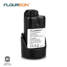 FLOUREON for Bosch 10.8V 2000mAh Rechargeable Battery Pack Power Tools Battery Li-ion for Bosch 2 607 GSB GSR PS BAT411 412A