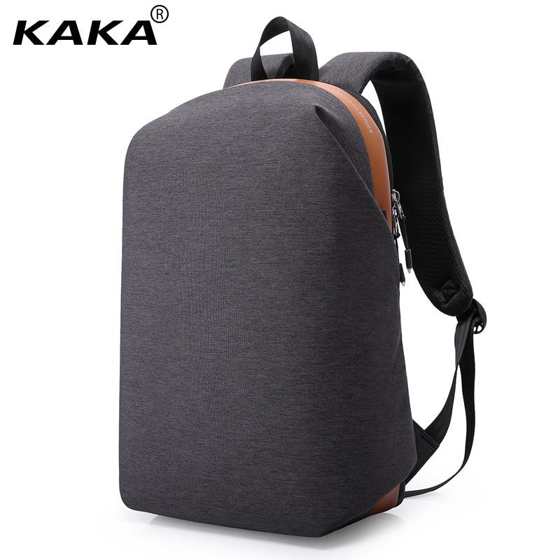 2017 New Korean Fashion KAKA Brand Designer Men 15.6 Laptop Backpacks Women Waterproof Shoulder Bags Leisure School Backpacks <br>