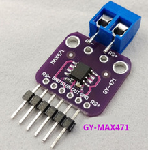 10pcs GY-471 3A Range Current Sensor Module Professional MAX471 Module new instock(China)