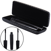 2Pcs 3D Fiber Lashes Fiber Mascara Black Natural Eyelash Extention Double Water Resistant Lashes Makeup Mascara(China)
