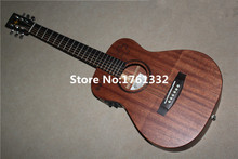 Factory custom 34-inch natural wood color acoustic guitar with fishman pickup EQ. Can be customized on request. In Stock