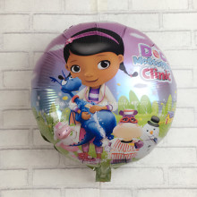 XXPWJ Arrival McStuffins Doctor Helium Balloon Kids Birthday Party Decoration Toys Children Mylar Balloons I-108(China)