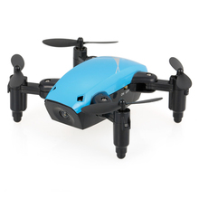 New S9 2.4G 4CH 6-axis Gyro Cute Mini Drone Headless Mode One Key Return Foldable Drone RC Quadcopter RTF Quad Multicopter(China)