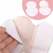 50pcs/Set Underarm Sweat Pads Clothing Perspiration Pads Stickers Shield Absorb Sweat Deodorant Armpit Sweat Pad For Women Men(China)