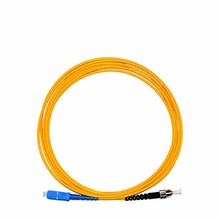 10PCS/LOT 3M SC-ST Singlex 9/125 SingleMode SM Connector Fiber Optic Cable Patch Cord Jumper Cable