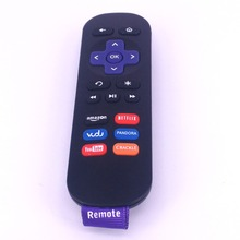 (2pcs/lot)Latest High Quality Technology Replacement Remote Control For ROKU 1 2 3 4 LT HD XD XS Ruko 1 Roku Roku 2 3