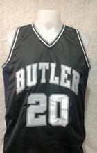#20 Gordon Hayward Butler University Dark Color Basketball Jersey Embroidery Stitched Custom any Number and name