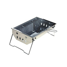 40*27*18CM Ultra-Light Portable Outdoor Picnic/Hiking/Camping Stainless Steel BBQ Barbecue Stove Foldable Charcoal Grill