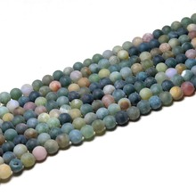 Wholesale Natural Dull Polish India Agate Matte Stone Beads For Jewelry Making DIY Bracelet Necklace 4/6/8/10/12 mm  15''