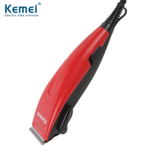 Kemei New Electric Professional Hair Clipper Trimmer Shaver Razor Cordless Adjustable Salon Clipper selling