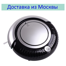 (Ship from Russia ) LIECTROUX K6L Mini Robot Vacuum Cleaner (Vacuum,Sweep,Mop) 2 Side-brush,Beautiful Flashing LED ,3 Work Mode(China)