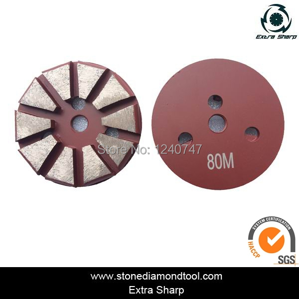 Quick change concrete grinding disc for Terrco grinding machine 3 Thread Hole 3 Inch<br><br>Aliexpress