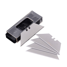benys 5pcs folding trapezoidal knife blade art carpet cutter alloy steel replaceable blades cutting blades for