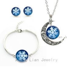 Classic winter Christmas party women jewelry sets cheap fashion costume jewellery set choker necklace earrings bracelet CM14