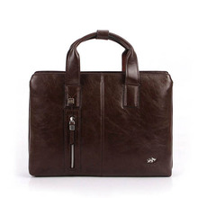 Business Men PU Leather Laptop Tote Bags Man Crossbody Bag Men's Messenger Travel Briefcases Bags W0003