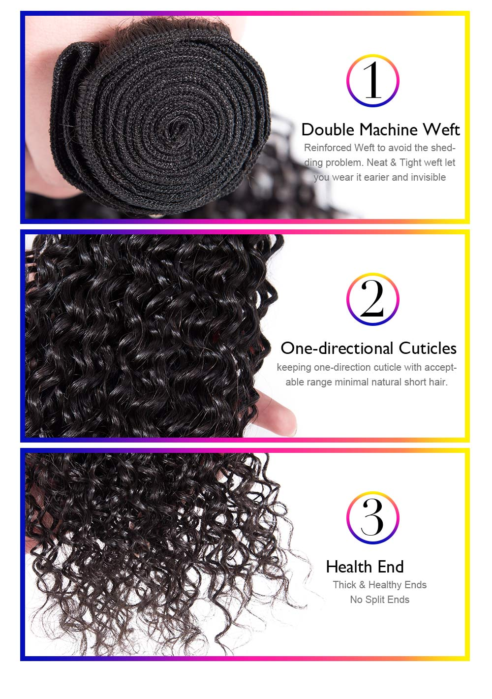 Best Kinky Curly Hair Human Hair 4 Bundles with 4x4 lace closure Natural Color Brazilian Hair Weave Bundles Hair Extensions