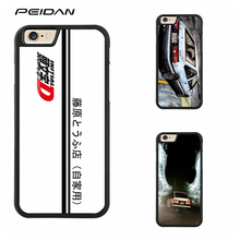 PEIDAN Initial D AE86 Full Protective cover cell phone case for iphone X 4 4s 5 5s 6 6s 7 8 6 plus 6s plus 7 plus 8 plus #qq192(China)