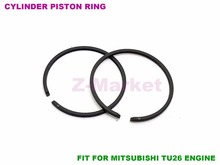 10sets Cylinder Piston Ring for Mitsubishi TU26 26CC NAKASHI L26M Brush Cutter.Grass Trimmer.Gasoline Engine Garden Tools  Parts