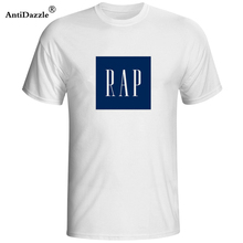 Antidazzle Mens t shirts RAP GAP Hip Hop Wutang Public Enemy Tribe Called Quest super T Shirt Cotton short sleeved t-shirt(China)