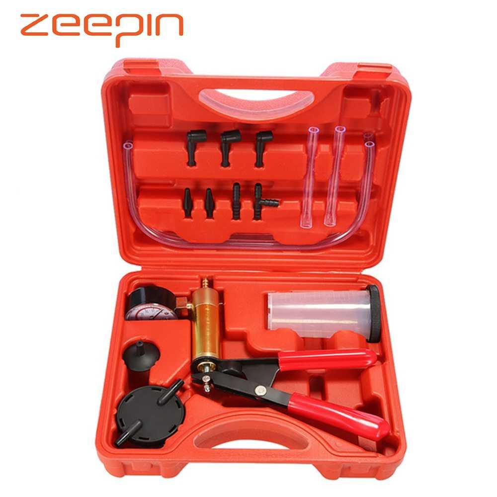 Brake Bleeder /& Vacuum Pump Kits Tester 2 in 1 Auto Hand-Held