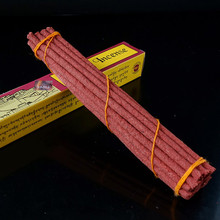 25cm potala tibetan incense purely hand from highly flavoured medicinal herbs,Handmade tibet incense sticks(China)
