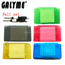 New Arrival 6 Color Choose Case For DS Lite NintendoNDSL DSL Shell Housing W/Buttons Full Set Game GBO DMG Console Boy Gift(China)