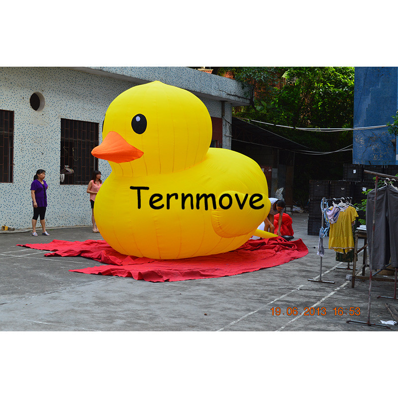 Giant Inflatable Yellow Air Duck9