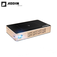 AODIN M6 plus M6S updated version M9 portable smart projector ROM 16G/32G optional home theater mini video projector HDMI USB SD