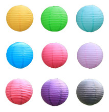 10pcs/lot 16 inch(40cm) 20 Colors Chinese paper lanterns style Wedding Home decoration holiday party supplies Free shipping(China)