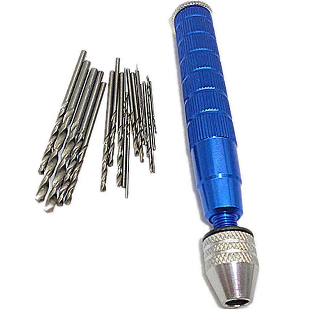 25pcs Twist Drills Bit 0.5-3mm Mini Micro Drill Hss Bits With Aluminium Manual Hand Drill Keyless Chucks For Model Olive Walnu<br><br>Aliexpress