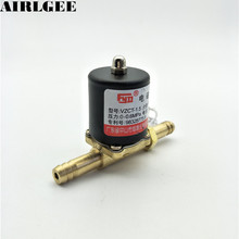 VZCT-1.5 Brass 2 Way Argon arc Welding Machines Solenoid Valve 0-0.6Mpa Air Water Oil Valve DC24V AC24V 36V 220V(China)