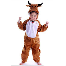 Kids Popular Carnival Costumes Hot Halloween Performance Dress Children Pajamas Stage Performance Winter Warm Clothing In Stock