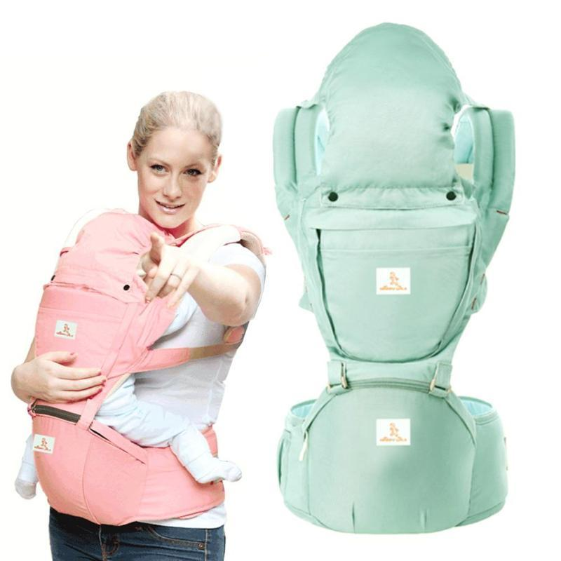 Ergonomic Baby Carrier hipseat Windproof 4 in 1 Infant Comfortable Sling Backpack Pouch Hipseat Wrap prevent o-type legs D3<br>
