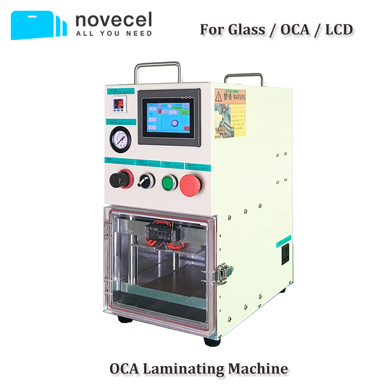 Novecel BM01 Laminating Machine Portable OCA Vacuum Laminator For Samsung Flat / Curved Screen Compatible for YMJ Mould