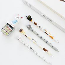 0.5 mm Lovely Animal The Little Cat Gel Pen Promotional Gift Stationery School & Office Supply(China)